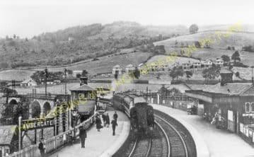Ambergate Railway Station Photo. Belper to Wingfield & Whatstandwell Lines (4)