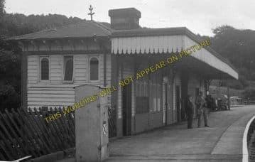 Ambergate Railway Station Photo. Belper to Wingfield & Whatstandwell Lines (8)