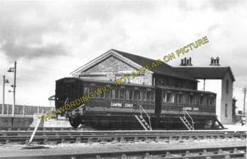 Amberley Railway Station Photo. Pulborough - Arundel. Littlehampton Line. (5)