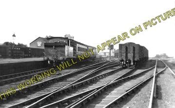 Amble Railway Station Photo. Broomhill and Chevington Line. North Eastern. (1)