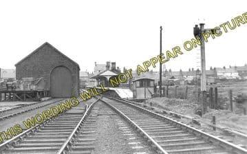 Amlwch Railway Station Photo. Holland Arms and Bangor Line. L&NWR. (2)