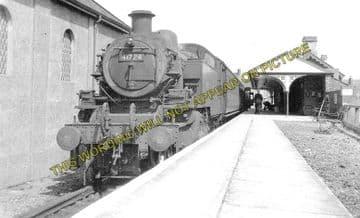 Amlwch Railway Station Photo. Holland Arms and Bangor Line. L&NWR. (4)