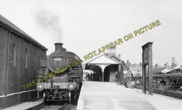 Amlwch Railway Station Photo. Holland Arms and Bangor Line. L&NWR. (5)