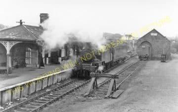 Amlwch Railway Station Photo. Holland Arms and Bangor Line. L&NWR. (6)