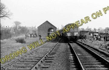 Amlwch Railway Station Photo. Holland Arms and Bangor Line. L&NWR. (9)