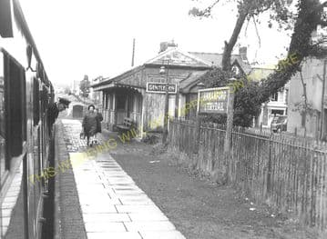 Ammanford Railway Station Photo. Pantyffynnon - Glamamman. Brynamman Line. (3)