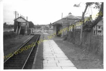 Ammanford & Tirydail Railway Station Photo. Great Western Railway. (11)