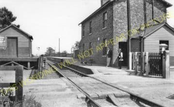 Amotherby Railway Station Photo. Barton-le-Street to Malton & Settrington. (2)