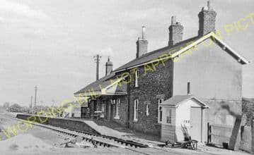 Ampleforth Railway Station Photo. Gilling - Coxwold. Pilmoor Line. (1)..
