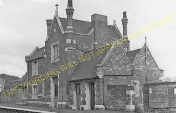 Ancaster Railway Station Photo. Honington - Rauceby. Barkston to Sleaford. (6)
