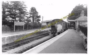 Andoversford Junction Railway Station Photo. Cheltenham - Notgrove. GWR. (15)