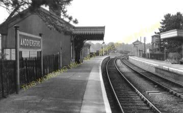 Andoversford Junction Railway Station Photo. Cheltenham - Notgrove. GWR. (17)