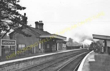Andoversford Junction Railway Station Photo. Cheltenham - Notgrove. GWR. (18)
