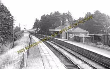 Andoversford Junction Railway Station Photo. Cheltenham - Notgrove. GWR. (2)