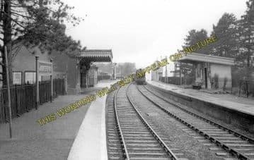 Andoversford Junction Railway Station Photo. Cheltenham - Notgrove. GWR. (3)