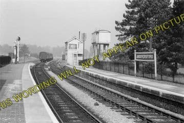 Andoversford Junction Railway Station Photo. Cheltenham - Notgrove. GWR. (6)
