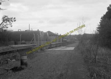 Andoversford Junction Railway Station Photo. Cheltenham - Notgrove. GWR. (7)