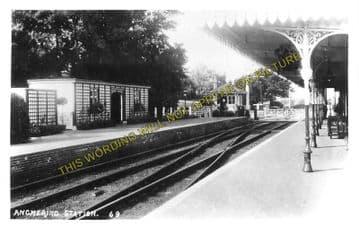 Angmering Railway Station Photo. Goring-by-Sea - Ford. Barnham Line. (1)