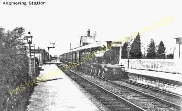 Angmering Railway Station Photo. Goring-by-Sea - Ford. Barnham Line. (2).