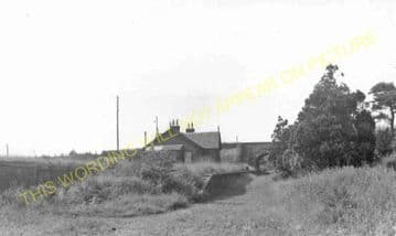 Annan Shawhill Railway Station Photo. Kirtlebridge - Bowness. (5)