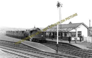 Annbank Railway Station Photo. Ayr, Monkton, Trabboch and Tarbolton Lines. (1).