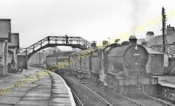 Annfield Plain Railway Station Photo. Consett - Beamish. Pelton Line. (3).