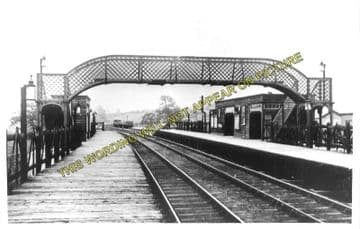 Anston Railway Station Photo. Shireoaks to Dinnington and Kilnhurst Lines. (1).