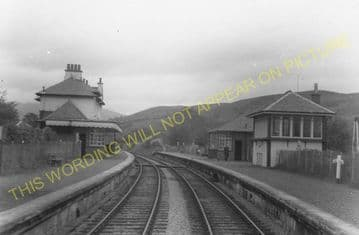 Appin Railway Station Photo. Creagan - Duror. Connel Ferry to Ballachulish. (4)