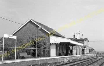 Appledore Railway Station Photo. Ham Street - Rye. Ashford to Hastings Line. (10)