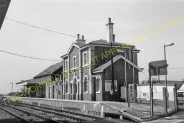 Appledore Railway Station Photo. Ham Street - Rye. Ashford to Hastings Line. (11)