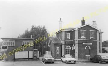 Appledore Railway Station Photo. Ham Street - Rye. Ashford to Hastings Line. (12).