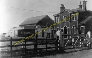 Appledore Railway Station Photo. Ham Street - Rye. Ashford to Hastings Line. (3)
