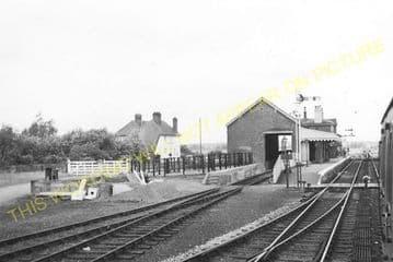 Appledore Railway Station Photo. Ham Street - Rye. Ashford to Hastings Line. (9)