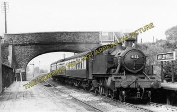 Appleford Railway Station Photo. Didcot - Culham. Oxford Line. GWR. (1)
