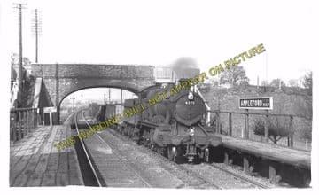 Appleford Railway Station Photo. Didcot - Culham. Oxford Line. GWR. (6)