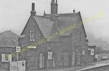 Appley Bridge Railway Station Photo. Gathurst - Parbold. Wigan to Burscough. (6)