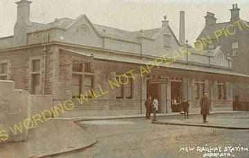Arbroath Railway Station Photo. Dundee & Arbroath Joint Railway. (5)
