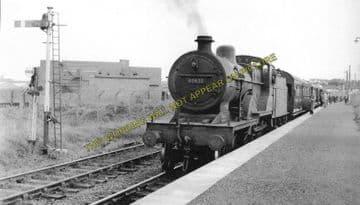 Ardeer Works (ICI) Railway Station Photo. Saltcoats Line. G&SWR. (1)..