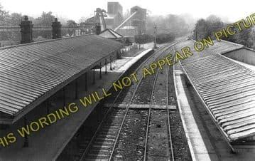 Ardingly Railway Station Photo. Horsted Keynes - Haywards Heath. LB&SCR. (2)