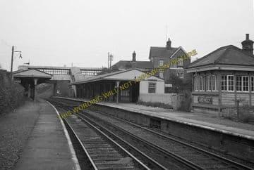 Ardingly Railway Station Photo. Horsted Keynes - Haywards Heath. LB&SCR. (5)