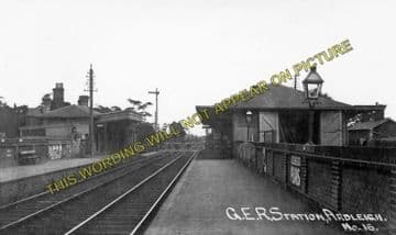 Ardleigh Railway Station Photo. Colchester - Manningtree. Great Eastern Rly. (2)