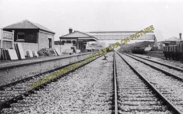 Ardley Railway Station Photo. Bicester - Aynho. Banbury Line. Great Western. (3)