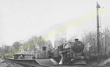Ardlui Railway Station Photo. Arrochar & Tarbet - Crianlarich. North British (8)