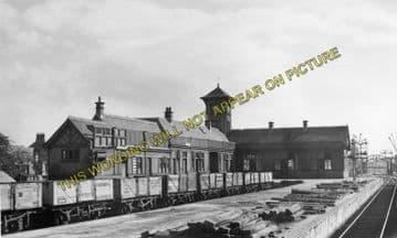 Ardrossan Town (North) Railway Station Photo. Caledonian Railway. (1)