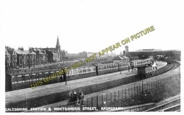 Ardrossan Town (North) Railway Station Photo. Caledonian Railway. (3)