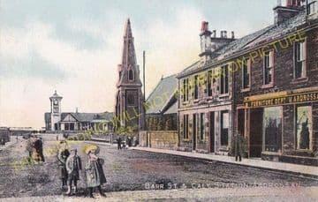 Ardrossan Town (North) Railway Station Photo. Caledonian Railway. (4)