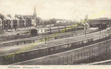Ardrossan Town (North) Railway Station Photo. Caledonian Railway. (6).