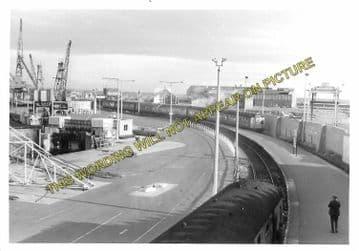 Ardrossan Winton Pier Railway Station Photo. Glasgow & South Western Railway (2)