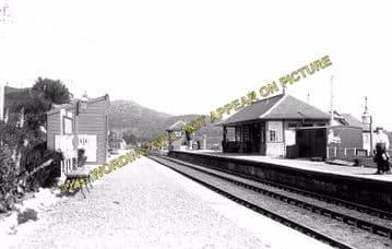 Arisaig Railway Station Photo. Bleasdale - Morar. Fort William to Mallaig. (1)
