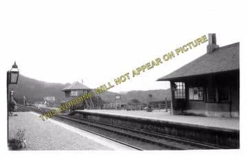 Arisaig Railway Station Photo. Bleasdale - Morar. Fort William to Mallaig. (3)